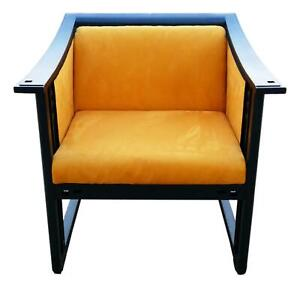 Armchair Model 61960 Manufacture Giorgetti Design umberto Asnago Years 80