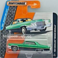MATCHBOX 2015 MBX AVENTURE CITY '69 CADILLAC SEDAN DEVILLE SHORT CARD