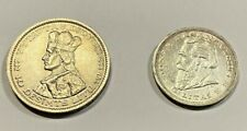 Latvia Coins, 1936, 5 Litai and 10 Desimts Litu