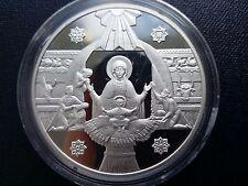 """Ukraine,10 Hryven, """" Nativity """", Silver 1999 year"""