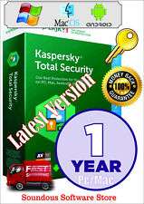 Antivirus KASPERSKY TOTAL Security 1Device/1Yr - World Wide - Instant Delivery