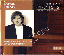Zoltan Kocsis: GREAT PIANISTS OF THE 20th CENTURY 2cd Bartók Debussy Rachmaninov