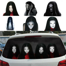 Popular 3D Horror Car Decal Sticker Window Reflective Female Ghost Zombie Sadako
