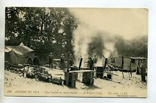 MILITARIA 516- Guerre 1914 Cuisine Camp Anglais soldats britisch camp the cooks