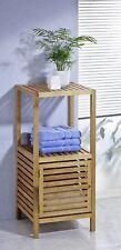 étagère mit 1 sol et Porte d'armoire, de salle bain, Etagère verticale, noyer,