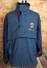VTG Tommy Hilfiger Mens L Packable Windbreaker Jacket Dive Search Rescue Anorak
