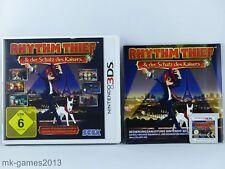 Rhythm Thief & der Schatz des Kaisers für Nintendo 3DS/2DS - OVP+Anl. - Sehr gut