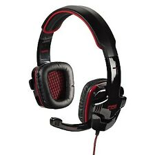 Hama Fire Starter Gaming GAME gamers PC Laptop Headset headphone with microphone