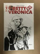 BETTY & VERONICA #1 BLANK VARIANT ORIGINAL ART ARCHIE (2016) SPIDER GWEN / WOMAN