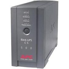 APC BK500BLK Back-UPS System (CS 500)