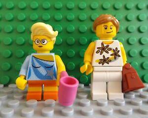 2 LEGO Brand New Mini Figure Girls Friends Mum Daughter Cup Handbag Accessories