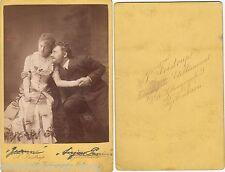 altes CdV Foto um 1890 Kgl. Hofschauspieler Hofoper Kopenhagen    ( F12326