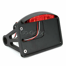 Motorcycle License LED Tail Light Bracket Fit Harley Dyna Sportster Touring XL