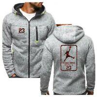 Men's Jacket Michael Jordan 23 Hoodies Coat Fashion Outwear Fleece Sweatshirts