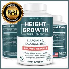 Height Growth Maximizer Natural Height Pills to Grow Taller Growth Supplement