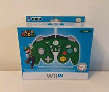 Wii U Hori Battle Pad Wired GameCube Style Controller OPEN BOX UNUSED Smash Bros