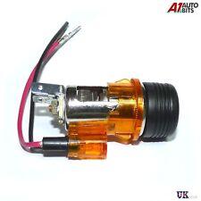 Orange Cigarette Lighter Plug & Socket For PEUGEOT 106 107 207 307 407 306 406