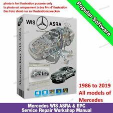 Mercedes Benz Smart Wis Asra Epc Service Repair Workshop Manual 1986-2019