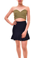 Finders Keepers Womens Auhtentic No Light Bustier Khaki Size S