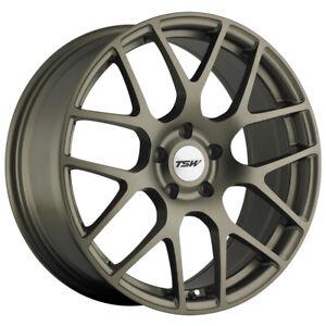 "TSW Nurburgring 17x7.5 5x4.5"" +45mm Matte Bronze Wheel Rim 17"" Inch"