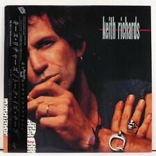 KEITH RICHARDS - Talk Is Cheap < 1988 1st Japan issue LP > NM  < Rolling Stones