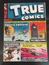 TRUE COMICS #41 (1941 Series) Big Ben cover. FBI. RARE WW2 issue. Dec 1944!