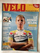 VELO MAGAZINE N°441 MAI 2007 LE MONDE SELON RICCO