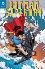 BATMAN SUPERMAN #1 (deutsch) VARIANT B  lim.222 Ex. ERLANGEN 2014