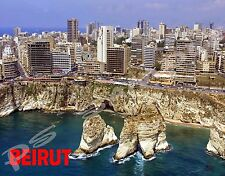 Lebanon - BEIRUT - Travel Souvenir Flexible Fridge Magnet