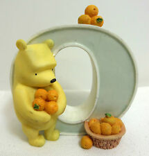 Disney Classic Winnie the Pooh Michel Figurine Letter O for Oranges