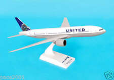 Skymarks United Airline New Logo 777-200 1/200 Scale Plane with Stand