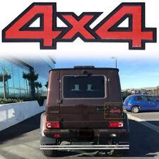 Universal 4x4 Badge Emblem 3D Metal Sticker For Jeep Grand Cherokee Wrangler