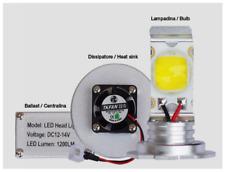Kit 2 lampadine in alluminio con maxi led e 2 ballast con dissipatore + RICAMBIO