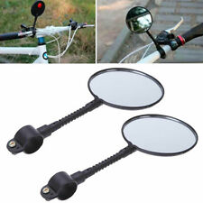 1Pair Bike Bicycle Cycling Cycle Handlebar Glass Rear View Mirror Outdoor Best