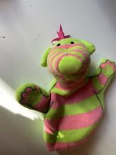 Fimbles Pom Green And Pink Glove Puppet