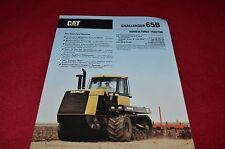 Caterpillar Challenger 65B Tractor Dealer's Brochure YABE14