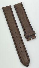Authentic Bulgari 14mm X 14mm Brown Crocodile Watch Strap Band New OEM