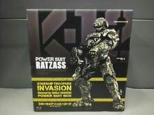 USED Blu-ray Starship Troopers Invasion Aramaki Shinji powered suit BOX 1500 LTD