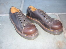 Dr. Martens Men Cushion Sole Tana  # 8019/34 size 5 Made in England --EUC--