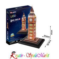 Cubic Fun - 3D Puzzle Big Ben Elizabeth Tower London England mit LED Beleuchtung