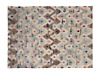Habitat Trigas Medium Large Multi Coloured Flat Weave Rug 140 X 200cm Home