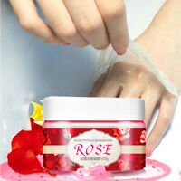 100g Rose Peel Off Hand Wax Mask Gel Exfoliating Hydrating Whitening Hand Cream