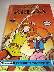 LEGEND OF ZELDA #1 Valiant Nintendo 1990 Comics 1st Print