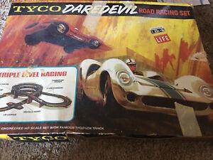 Tyco Daredevil Road Racing Set - See Description