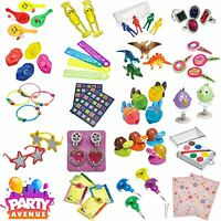 Childrens Party Favours Loot Bags Fillers Toys 4 Packs Birthday Kids Pinata
