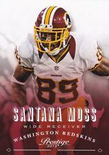 Santana Moss  2013 Panini Prestige Football Sammelkarte, #196