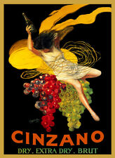 Cinzano Vintage Wine Advertising Poster