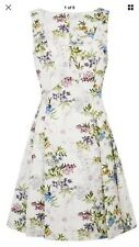 Oasis Floral Skater Dress - Size 10 - V&A collection- wedding guest outfit-BNWOT