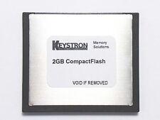 2GB 2 GB COMPACT FLASH ROLAND FANTOM X X6 X7 X8 XR Xa