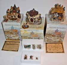 5 Lots Boyds Bearly Built Villages & Accessories